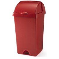 Addis  Roll Top Bin Roasted Red - 48 Litre