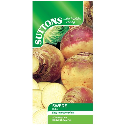 Suttons  Swede Ruby Vegetable Seeds