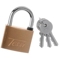 Tessi  Brass Padlock - 40mm