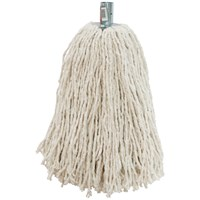 Dosco  White Mop Head - Metal Socket No. 16