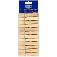 Dosco  Timber Clothes Pegs